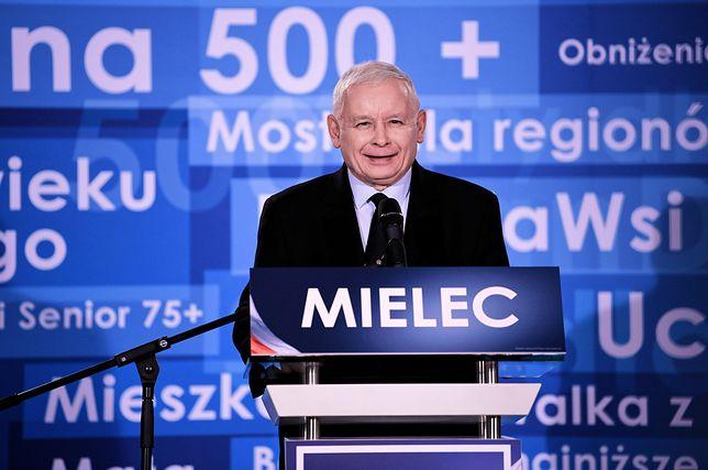 """Jarosław Kaczyński zapewnił, że PiS jest """"partią zgody"""""""