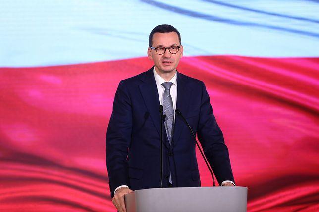 Mateusz Morawiecki wystąpi w TVP z okazji Święta Niepodległości.