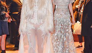 Kim Kardashian z siostrami na planie filmu
