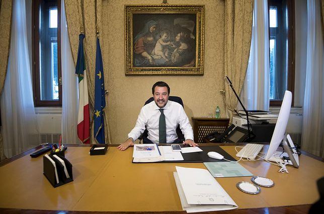 Włochy. Nowy szef MSW: nielegalni imigranci muszą pakować walizki