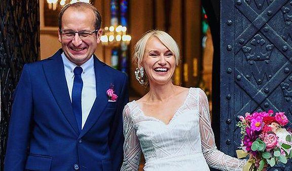 Robert Górski wziął ślub z Moniką Sobień, 7 września 2019
