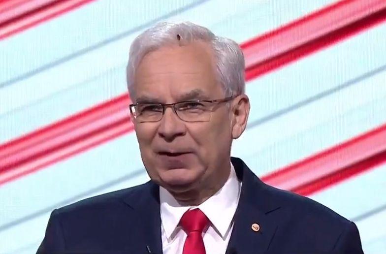 Wpadka podczas debaty prezydenckiej. Jeden szczegół skradł show