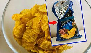 """Czasami pół paczki chipsów stanowi """"powietrze""""."""