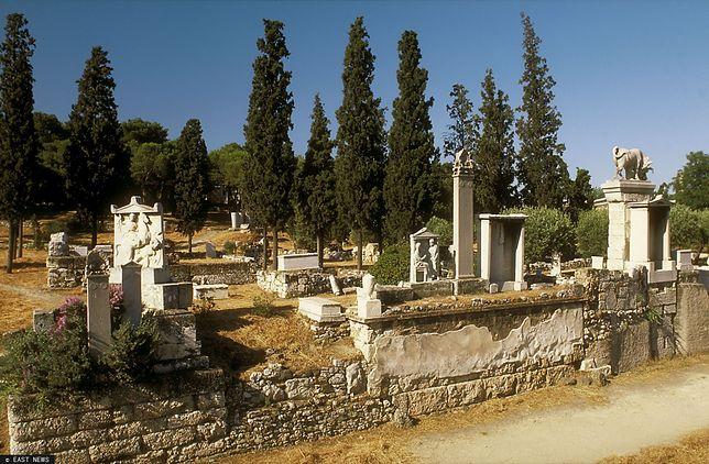 Kerameikos w Atenach.