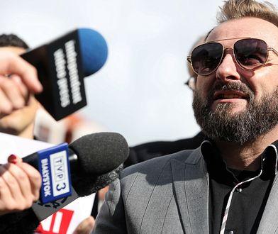Piotr Liroy-Marzec poparł kandydata KO do Sejmu