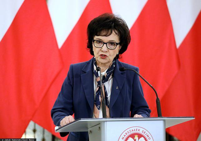 Koronawirus w Polsce. Marszałek Sejmu Elżbieta Witek rozwiała wątpliwości w sprawie wyborów