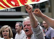 Protesty w Grecji - przestroga dla Europy