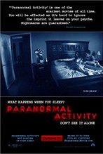"Plakat ""Paranormal Activity"""
