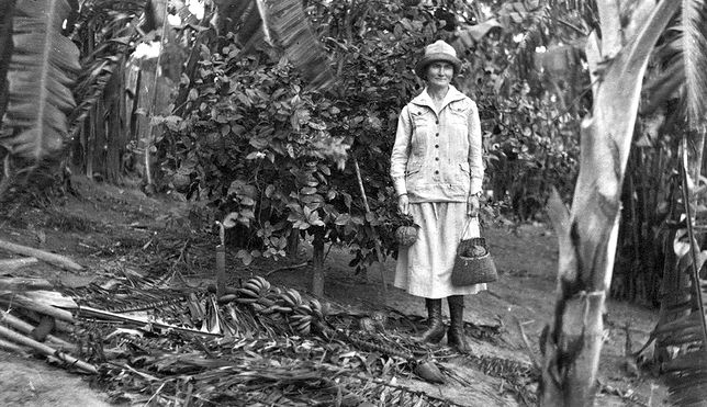 Michalina Isaakowa w Amazonii