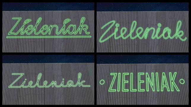 """Wybierz neon dla """"Zieleniaka"""""""