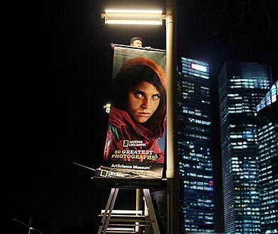 """Zielonooka Afganka z okładki magazynu """"National Geographic"""" zatrzymana"""