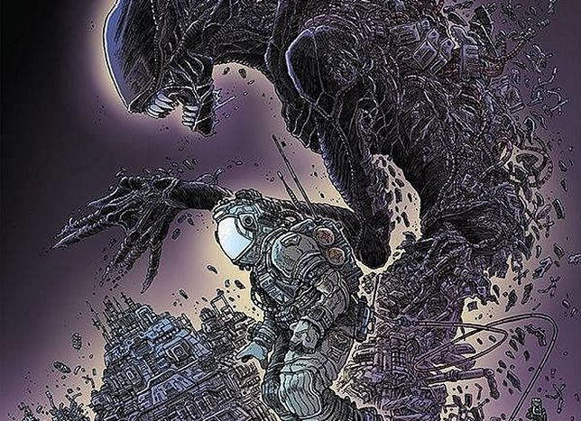 """Aliens. Dead Orbit - Orbita śmierci"", wyd. Scream Comics, 2019"