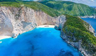 Najbardziej charakterystycznym miejscem na Zakynthos jest Zatoka Navagio