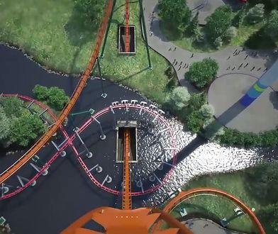 Najwyższy, najszybszy i najdłuższy nurkujący rollercoaster na świecie. Będzie w Kanadzie