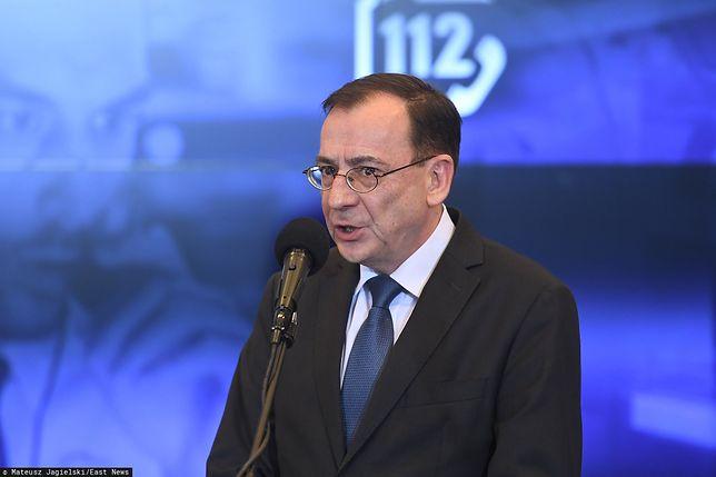 Mariusz Kamiński, szef MSWiA oraz koordynator służb specjalnych.