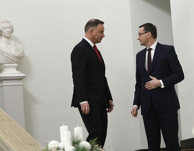 Rzecznik prezydenta Andrzeja Dudy skrytykował szefa kancelarii premiera Mateusza Morawieckiego