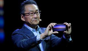 Mitsuya Kishida prezentuje Xperię 1 podczas CES 2019