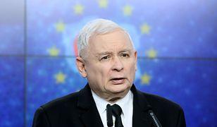 Prezes PiS Jarosław Kaczyński. Według badania dla WP, jego dalsze rządy są obecnie niezagrożone.