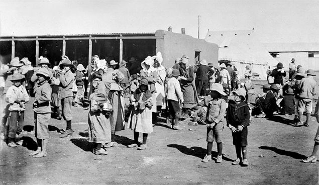 Obozy koncentracyjne - wynalazek Brytyjczyków