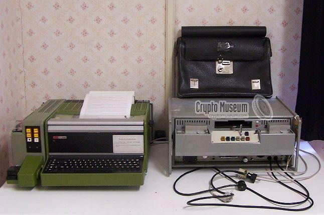 """TgS-1 DUDEK — był najczęściej używanym modelem """"Dudka"""" w polskich urzędach (źródło: cryptomuseum.com)"""