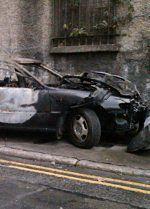 Atak na ekipę TVP w Irlandii. Spalili auto Polaków!