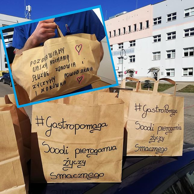 Szlachetne gesty restauracji. Lekarze i personel dostają jedzenie za darmo - #gastropomaga