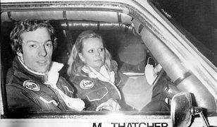 Mark Thatcher i Anne-Charlotte Verney, 30 grudnia 1981 r., Paryż