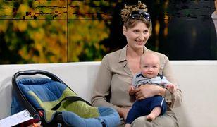 Ewa ze swoją córką w Telewizji WP