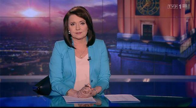 """Materiał na ten temat raportu wyemitowano dopiero w 15. minucie """"Wiadomości"""" i był on zaskakująco krótki"""