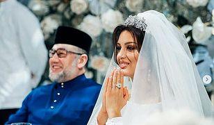 Ślub 27-letniej miss z 50-letnim królem