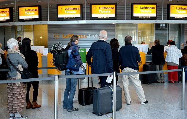 Strajk pilotów Lufthansy. Odwołano co najmniej tysiąc lotów, także z Polski