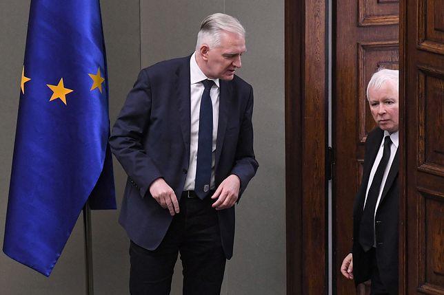 Jarosław Gowin i Jarosław Kaczyński - czy ich sojusz polityczny właśnie się rozpada?