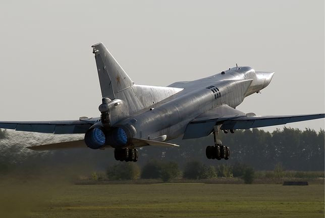 Bombowiec Tu-22M3 rozbił się pod Murmańskiem