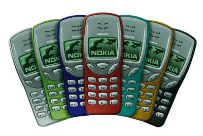 Nokia 3210. Jeden z bardziej popularnych modeli w tamtym czasie. Choć Nokia produkowała je w kilku kolorach, najczęsciej kupowano szary.