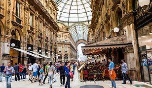 Galeria Wiktora Emanuela II to główne centrum handlowe w Mediolanie