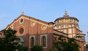 """W kościele Santa Maria delle Grazie znajduje się obraz """"Ostatnia Wieczerza"""""""