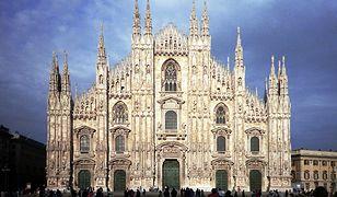 Katedra Duomo w Mediolanie to jedna z największych atrakcji tego miasta