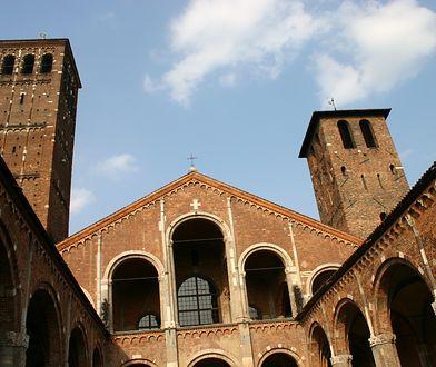 Bazylika św. Ambrożego to jeden z najpiękniejszych kościołów w Mediolanie