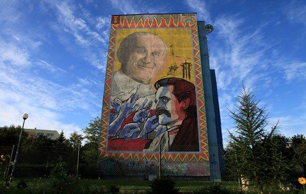 Polska stolica muralu