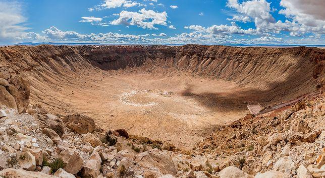 Krater Barringera, Arizona, USA