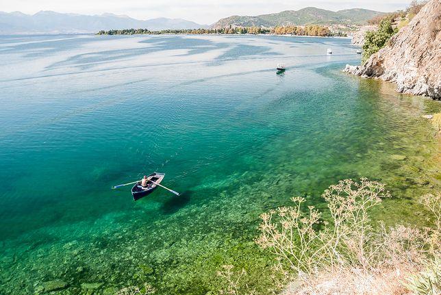 Czyste jeziora to główna atrakcja Macedonii
