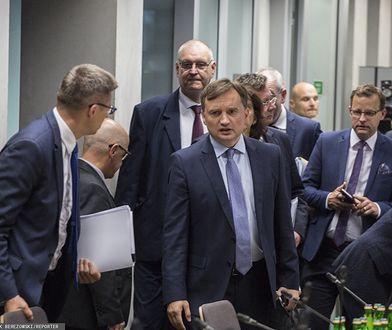 Sejm. Zbigniew Ziobro na komisji sprawiedliwości i praw człowieka