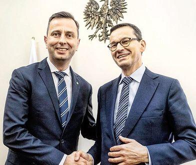 Władysław Kosiniak-Kamysz i Mateusz Morawiecki