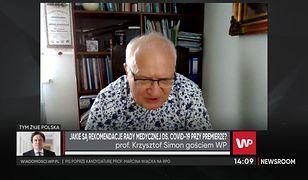 Prof. Krzysztof Simon: Kwarantanna jest konieczna