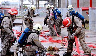 Straż pożarna ewakuowała ponad 500 osób