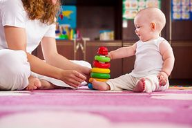 Zabawy z niemowlęciem