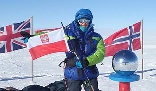 Małgorzata Wojtaczka to pierwsza Polka na biegunie południowym