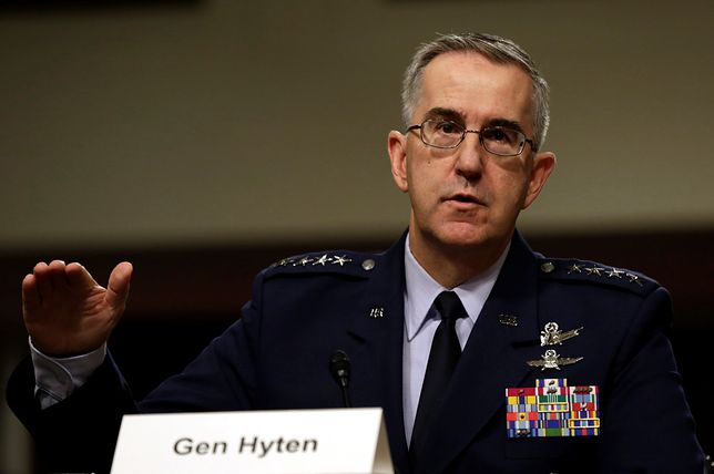 Gen. John Hyten, dowódca US Strategic Command (STRATCOM)