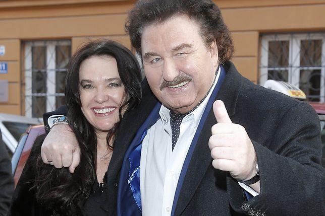 Krzysztof Krawczyk z ukochaną żoną Ewą