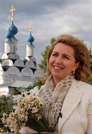 Żona Miedwiediewa przyleciała do Polski